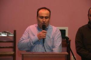 Ο πρόεδρος του Εμπορικού Συλλόγου από συνεδρίαση. Φωτογραφία αρχείου