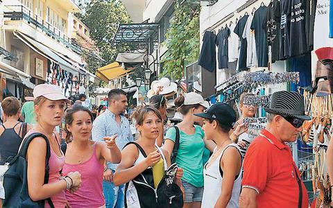 Αποτέλεσμα εικόνας για εμπόριο και τουρισμός