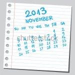 calendar-2013-november-sketch