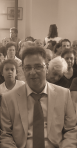 Ο νέος δήμαρχος Αντιπάρου Τ. Φαρούπος με τους συμπολίτες του
